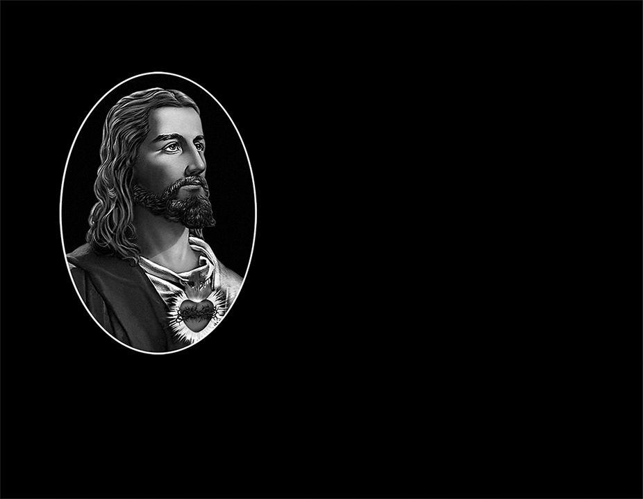 Corazón de Jesús láser