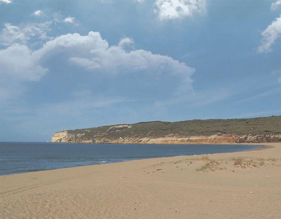 Fondo de playa