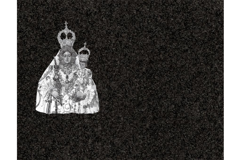 Virgen de Araceli de Lucena láser
