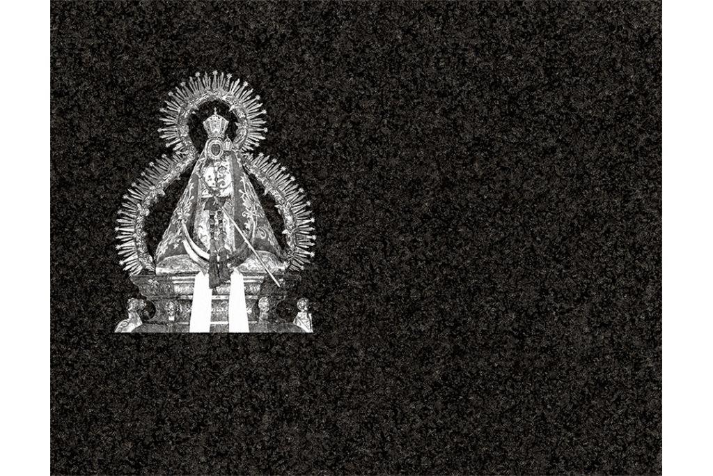 Virgen de la Cabeza láser
