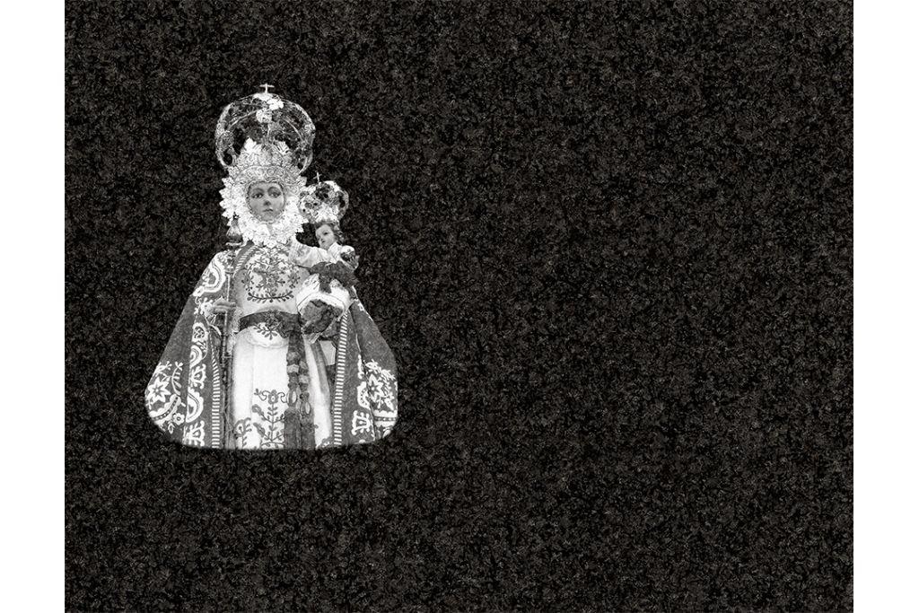 Virgen de la Fuensanta láser