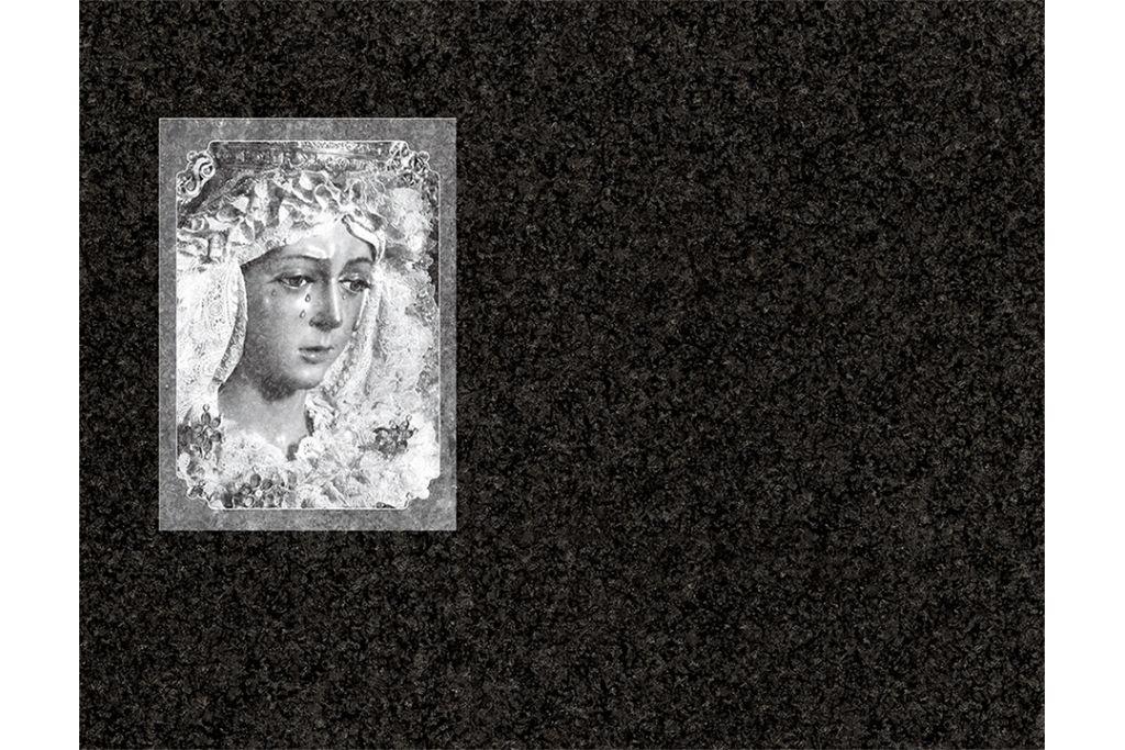 Virgen de la Macarena láser