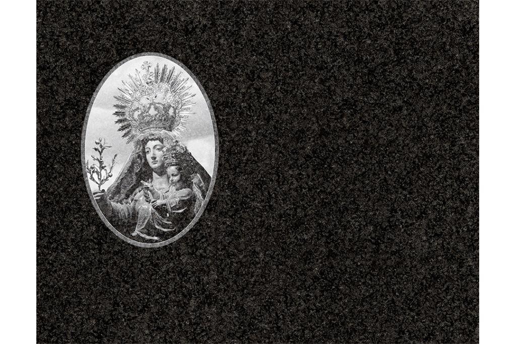 Virgen de la oliva láser