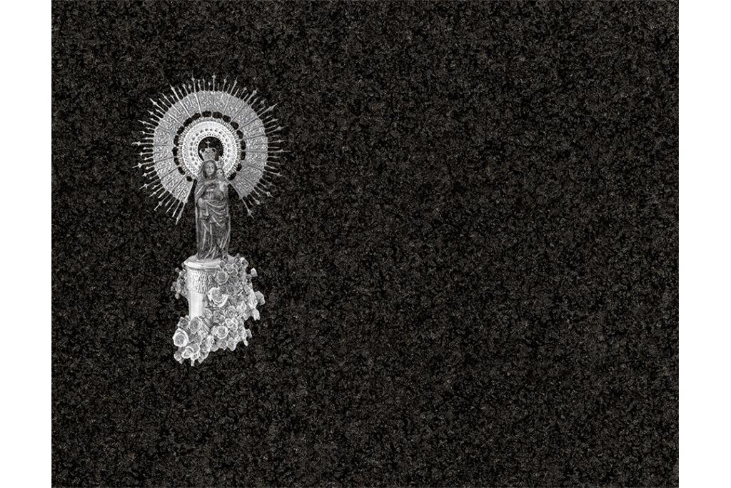 Virgen del Pilar láser