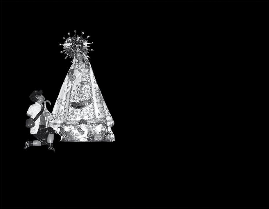 Virgen del Tremedal láser